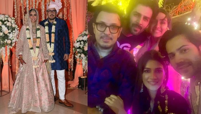 Producer Dinesh Vijan Ties The Knot With Pranita Tanwar, B-town Celebrities Attend The Celebrations