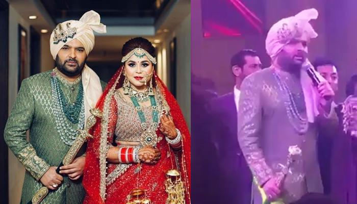 Kapil Sharma Begs To Paparazzi And Guests To Let Him Also Eat On His Wedding