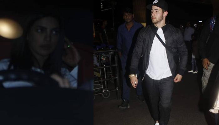 Priyanka Chopra Looks Sad While Dropping Off Husband Nick Jonas At The Airport, Pictures Inside