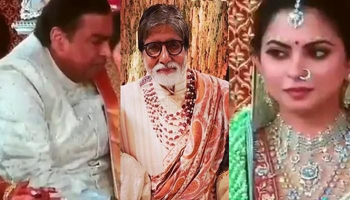 Isha Ambani And Anand Piramal's Wedding, Kanyaadan Ceremony Hosted By Amitabh Bachchan