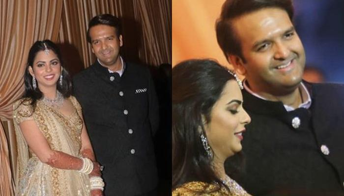 Isha Ambani And Anand Piramal's First Look With Families At Their Second Reception Hosted By Ambanis