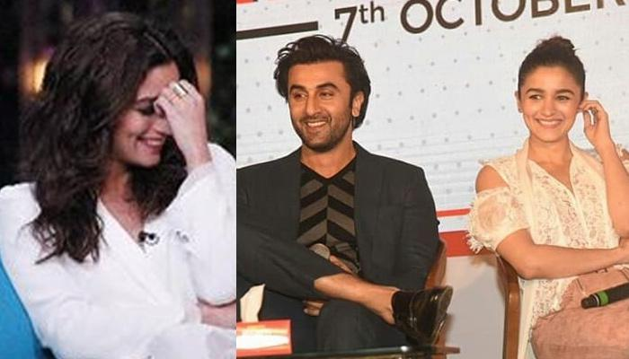 Alia Bhatt Felt Shy When Daddy Mahesh Bhatt Said That BF Ranbir Kapoor Is A 'Great Guy For Her'