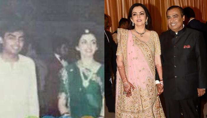 Unseen Pic From Mukesh Ambani And Nita Ambani's Wedding, How Times Have Changed For Them