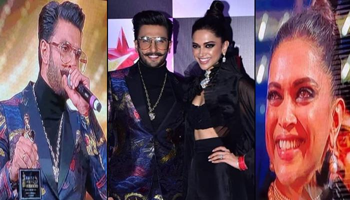 Ranveer Singh Dedicates Best Actor Award To His 'Real Queen' Deepika Padukone, Leaves Her Teary-Eyed