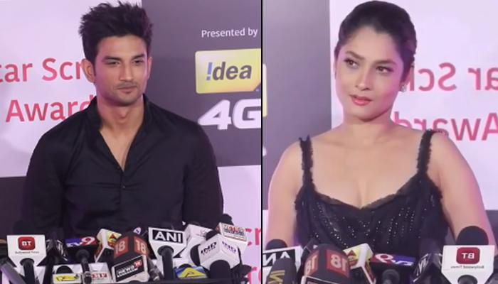 Sushant Singh Rajput Talks 'Dil Se' About Ex Ankita Lokhande But She Ignores Him At An Award Show