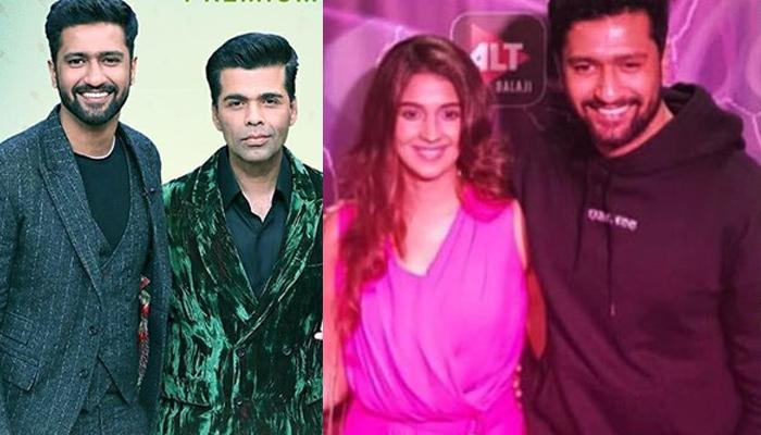 Vicky Kaushal Finally Confirms Being In A Relationship At 'Koffee With Karan', Says It Is New