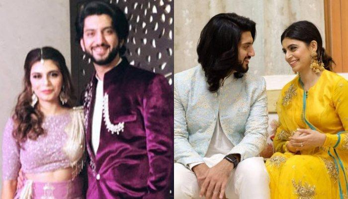Kunal Jaisingh And Bharati Kumar's First Look From Their Sangeet Ceremony, Twin In Shades Of Purple