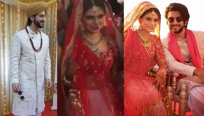 Ishaqbaaz Fame Kunal Jaisingh And Bharati Kumar's Wedding, First Look Of The Bride And Groom