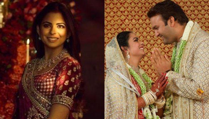 First Pic Of Isha Ambani Post Her Wedding With Anand In Her 450 Crore Mansion Gifted By Her In-Laws