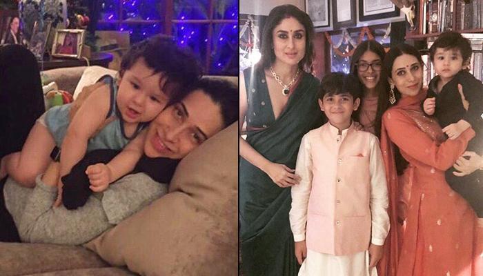 Taimur Ali Khan's Maasi Karisma Kapoor Has Cutest Wish For Her Jaan, Shares A Pic With Samiera-Kiaan