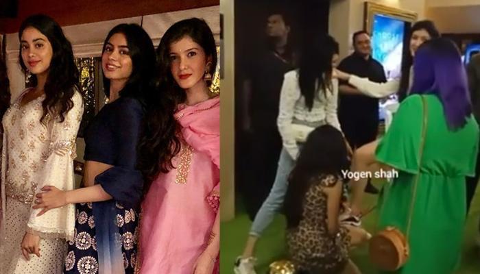 Janhvi And Khushi Kapoor Give Sis Shanaya 'Princess Feels', Bend Down On Knees To Tie Her Shoelaces