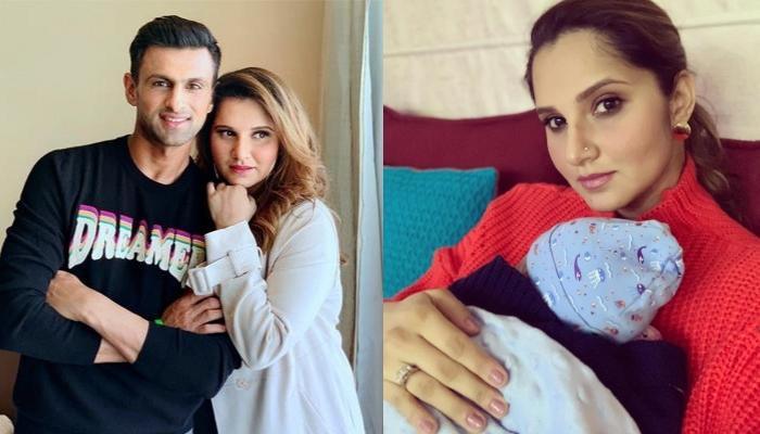 Sania Mirza And Shoaib Malik Share Full Pic Of 'Baby Mirza Malik', Izhaan Says Hello To The World