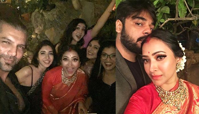 Shweta Basu Prasad And Rohit Mittal's Wedding Reception, She Wore Benarasi Saree Gifted By Her Naani