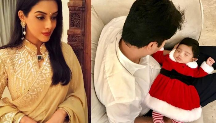 Asin Shares Daughter Arin's First Christmas Pictures And It Is A Perfect Start To Our Holiday Season