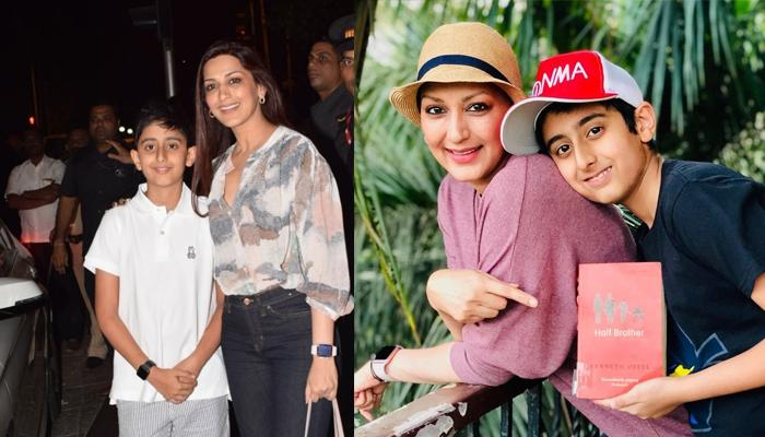 Cancer Survivor Sonali Bendre Collaborates With Son, Ranveer Behl In A New Venture
