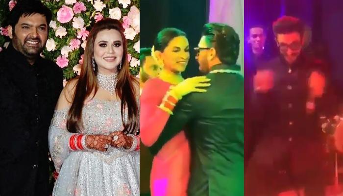 Deepika Padukone-Ranveer Singh Danced Crazily At Kapil Sharma-Ginni Chatrath Reception [VIDEOS]