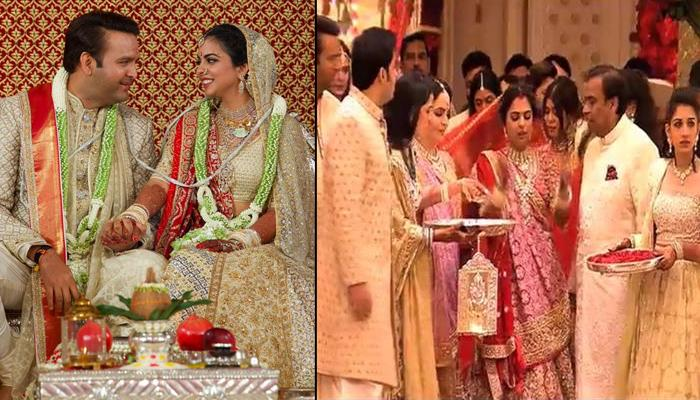 Isha Ambani And Anand Piramal's Wedding Video, A Perfect Recap To The Memories From Baaraat To Vidai