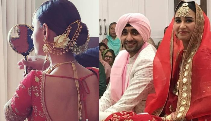 Miss India Earth Hasleen Kaur Ties The Knot With Boyfriend In A Private Ceremony, Pictures Inside