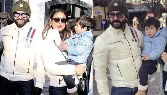 Baby's Day Out, Taimur Ali Khan Steps Out On The Streets Of London With Family, Pictures Inside