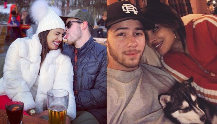 Priyanka Chopra Finds Her Happiness In The Mountains, Shares A Cute Holiday Picture With Nick Jonas