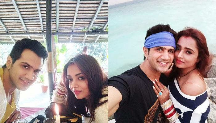 Parul Chauhan And Chirag Thakkar Are Honeymooning In The Maldives After Nepal, Pics Inside