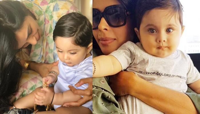 Not Taimur Or Inaya, Mallika Sherawat's Nephew In New Internet Sensation; Looks Cute As A Button