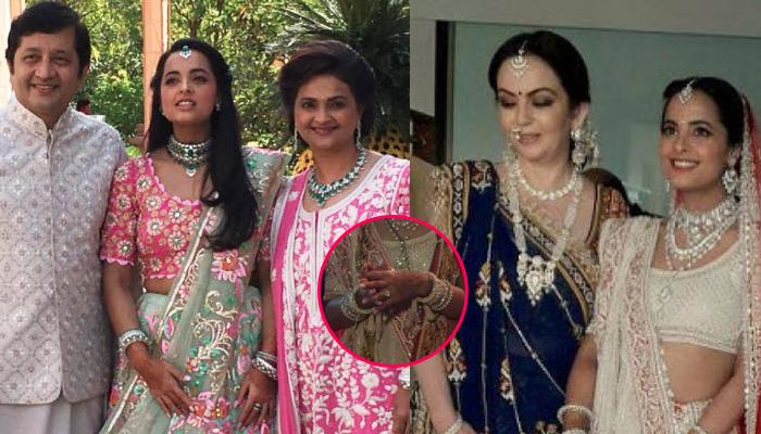 Dhirubhai Ambani's Grandaughter, Married In The Jewellers' Family, Wore A 'Chooda' Made Of Diamonds