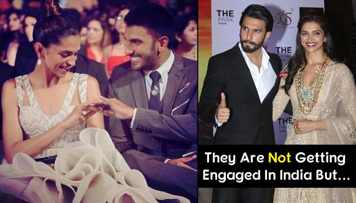 After Virat-Anushka, Deepika And Ranveer To Get Engaged, Here Are All The Details