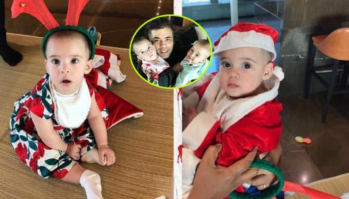 Star Kids at Karan Johar's Twins Yash & Roohi's 1st Birthday Party