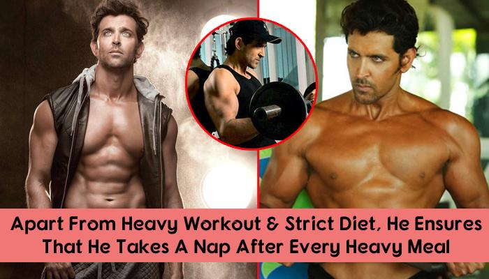 The Incredible Diet And Fitness Routine Behind Hrithik Roshan's Chiseled Body