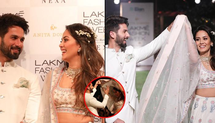 Shahid And Mira Turn Heads With Their Romantic 'Twirling Moment' At The Lakme Fashion Week 2018