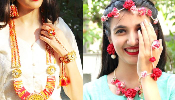 10 Beautiful Gota Jewellery Pieces For Brides To Look Divine On Their Pre-Wedding Ceremonies