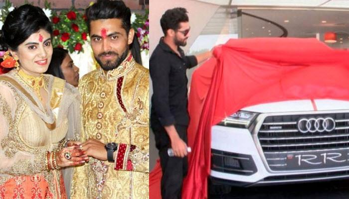 'Damaad' Ravindra Jadeja Got An Audi As A Wedding Gift From His Father-In-Law