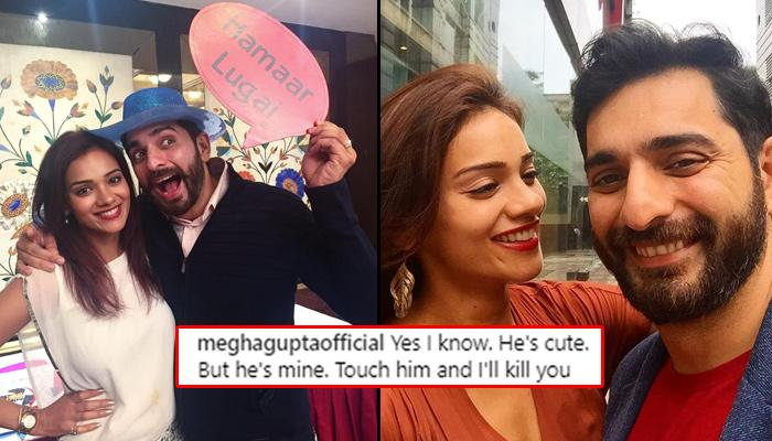 Megha Gupta's PDA On Instagram With 'Patidev' Siddhant Karnick Is Giving Us Relationship Goals