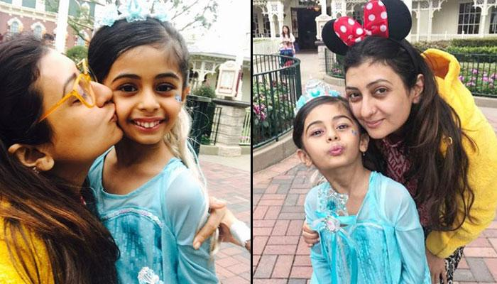Single Mom Juhi Parmar Takes Her Daughter To Disneyland On Her 5th Birthday, Pics Inside!