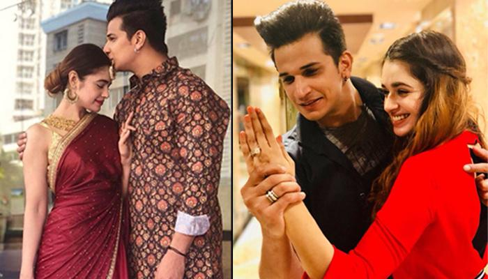 Newly-Engaged Couple Prince Narula And Yuvika Chaudhary Wish Each Other Valentine's Day