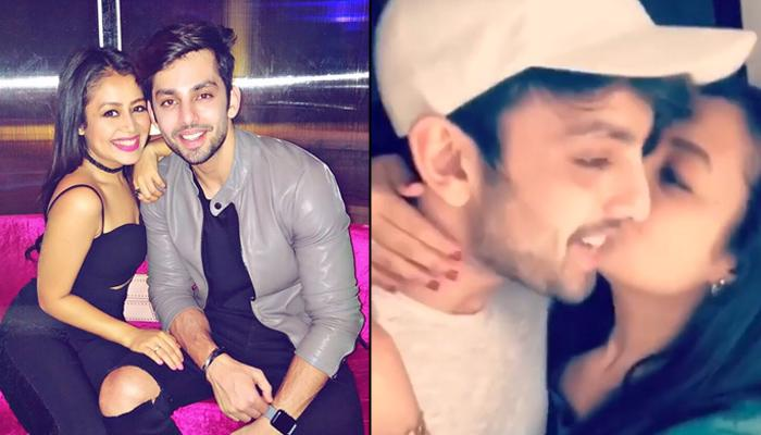 Neha Kakkar Is Madly In Love With Himansh Kohli, Kisses Him On Kiss Day In An Instagram Story