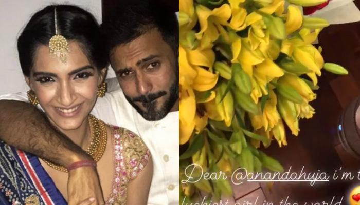 Valentine's Day - Sonam Kapoor and Anand Ahuja romance in black and white