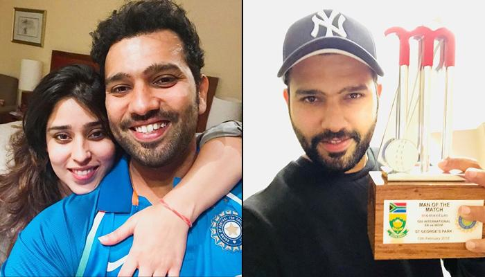 Rohit Sharma Dedicates His Man Of The Match Trophy To Wife Ritika, Best Valentine's Gift Ever!
