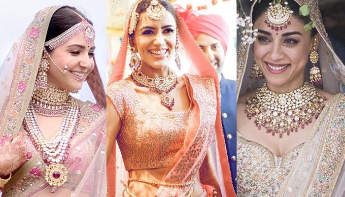 Bridal Outfits Of 15 Beautiful Celebrity Brides Of 2017 That Set New Trends In Wedding Fashion