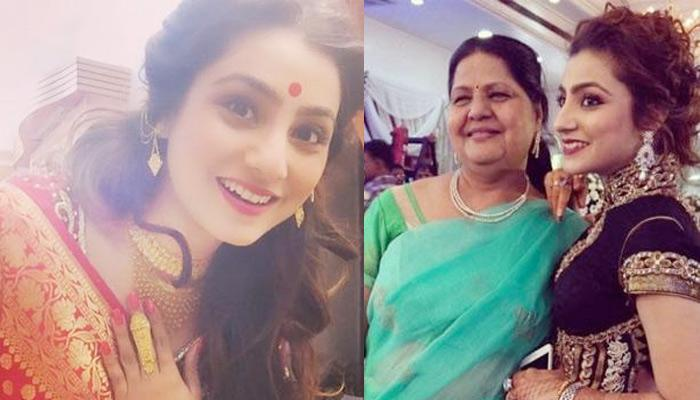 Neha's 'Saasu Maa' Again Showered Love On 'Bahu', Gifted Her Ancestral Gold Jewellery And A Saree