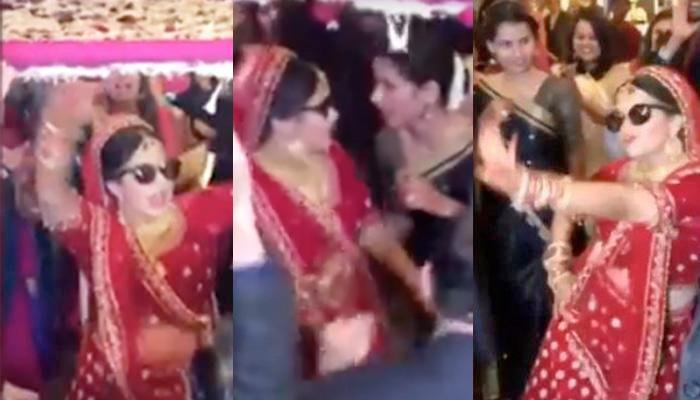 Bride's Bold Dance Moves On Her Bridal Entry; Friend Probably Asked Her To Stop The Performance