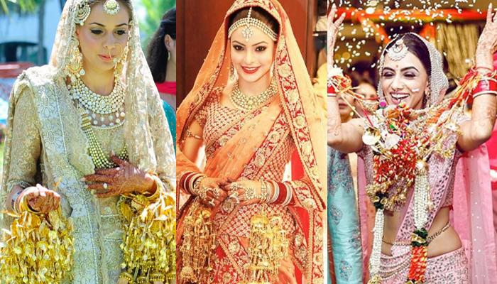 Different Types Of Bridal Kalire Designs That Soon-To-Be-Bride Can Choose For Her Wedding Day