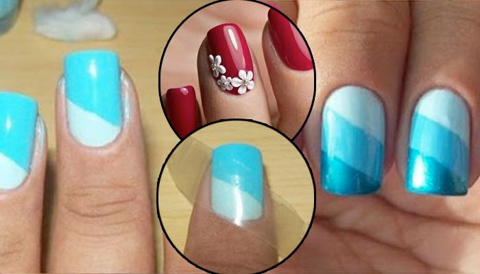 25 Easy DIY Nail Art Hacks That Can Be Done At Home For Beginners