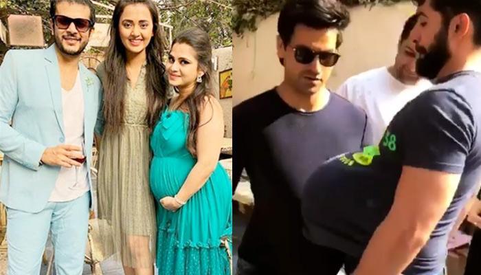 Jay Soni And Wife Pooja Shah Host 'Godh Bharai'; Vivek And Jay Play With Fake Baby Bumps
