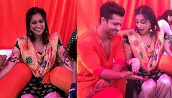 Shoaib And Dipika's Mehendi Pics Are Out, Flaunts His Bride's Name On His Hand