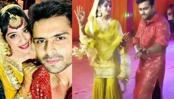 Dipika And Shoaib's 'Filmy' Dance On 'Chal Pyaar Karegi' On Their Sangeet Ceremony [Watch Video]