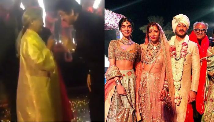 Jaya Bachchan Dancing During Mohit And Antara's Sangeet On 'Husn Hai Suhana' [WATCH VIDEO]