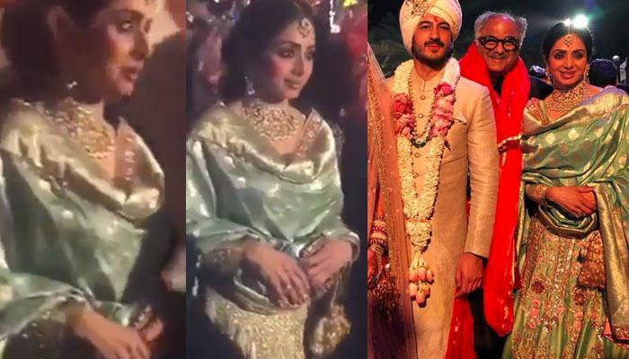 Last Pictures And Video Of Sridevi From Mohit Marwah's Wedding In Dubai