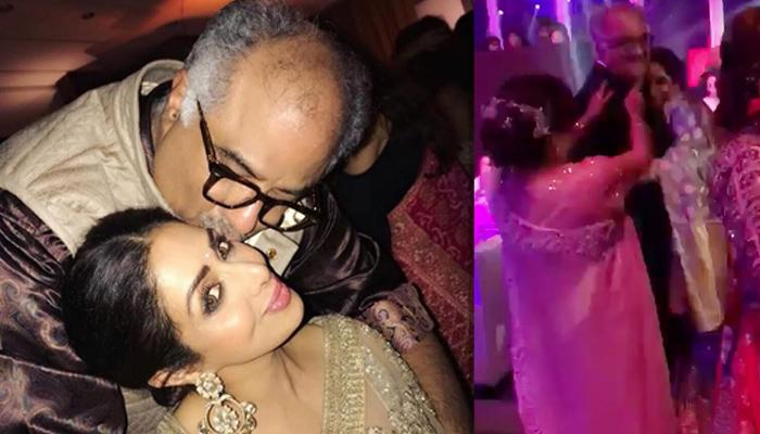Last Video Of Sridevi Dancing With Boney Kapoor, Shared A Warm Moment As He Hugged Her Tightly